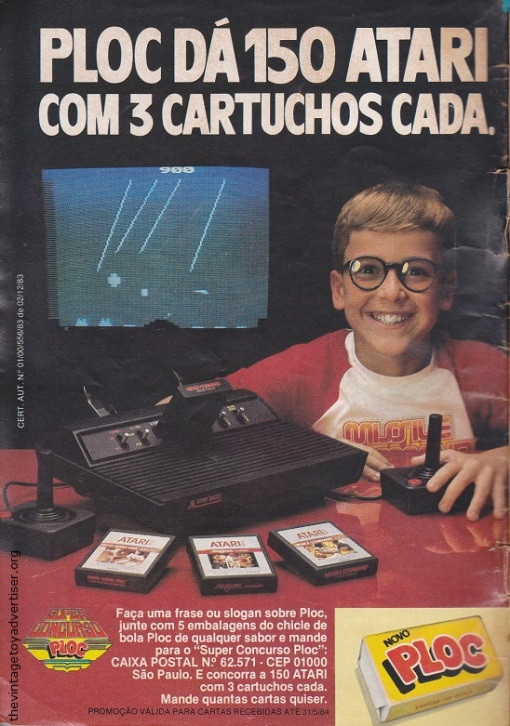 Brazil. Cebolinha. 1984.