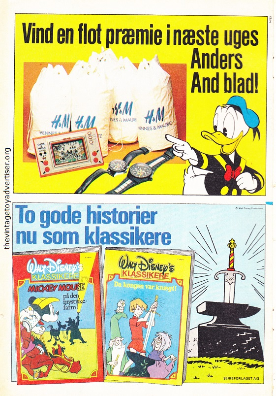 Denmark. Anders And & Co N° 14. 1983.