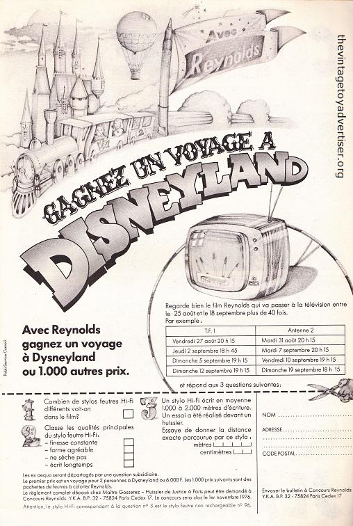 France. Pif Gadget N° 391. 1976.