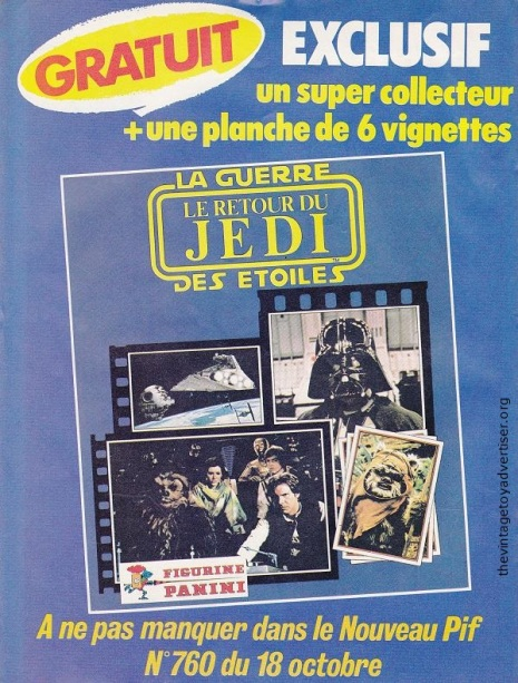 France. Pif Gadget N° 758. 1983.