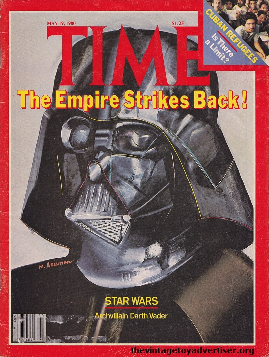 Archvillain Darth Vader, cover TIME Magazine, by M. Arisman.