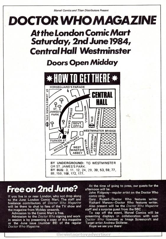 UK. ROTJ. 1984.