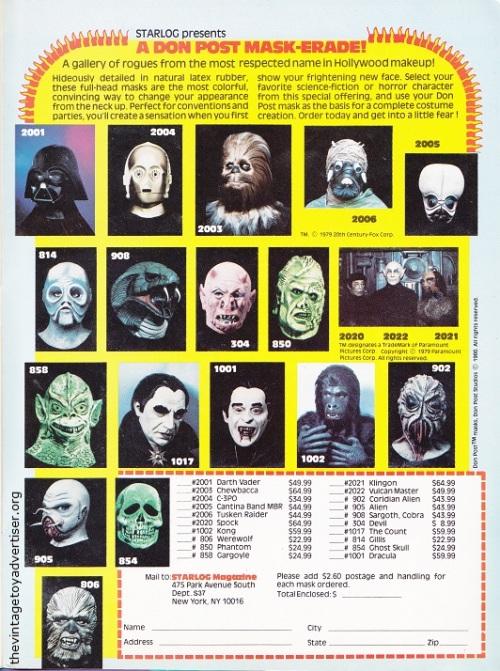 USA. Starlog 37. 1980.