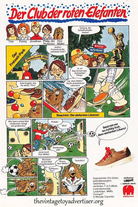 Elefanten shoes. Germany. YPS N° 312. 1981.