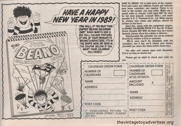 UK. The Beano 2422. 1988.
