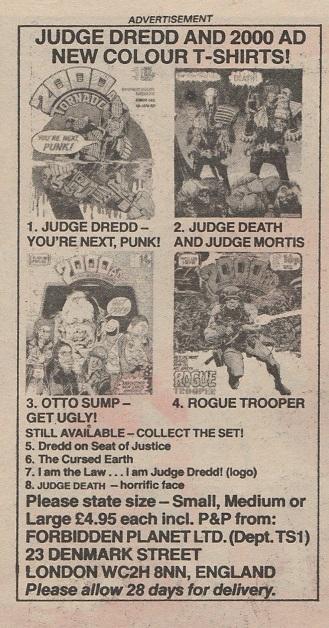 UK. 2000 AD. 1983.