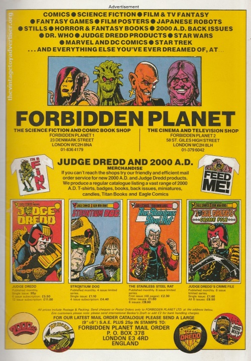 UK. 2000 AD's Dice Man #1. 1986.