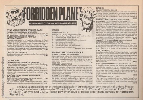 UK. Starburst. 1980.