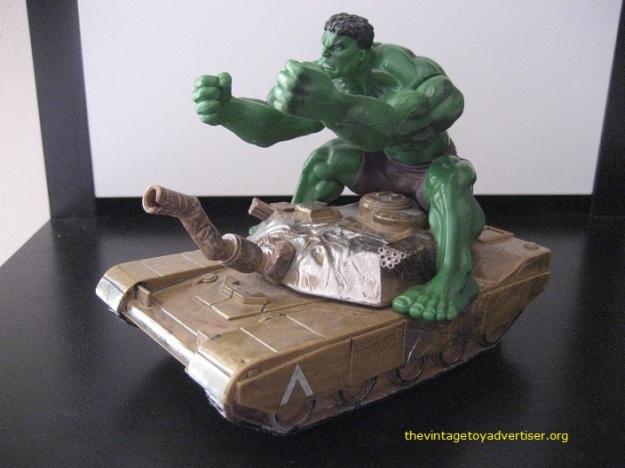 Hulk Smash tank figure TVTA