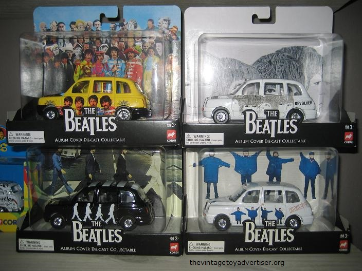 TVTA Corgi Beatles