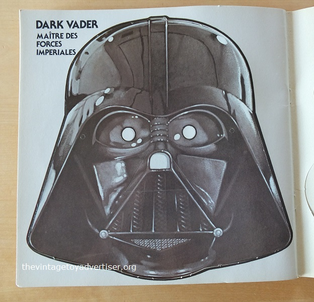 Mask #11. At last! Lord Vader! Pop this on after smoking ten of Grandad's Park Drive and you'll soon be huskily ordering the destruction of any pesky rebels in the immediate vacinity.