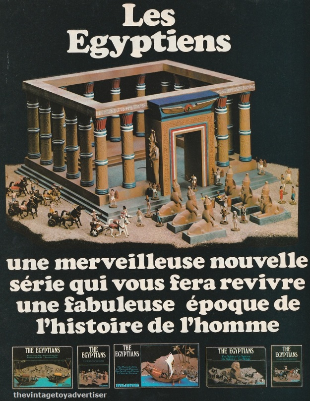 France. PIf Gadget. 1977. Right side of a two-page double ad.