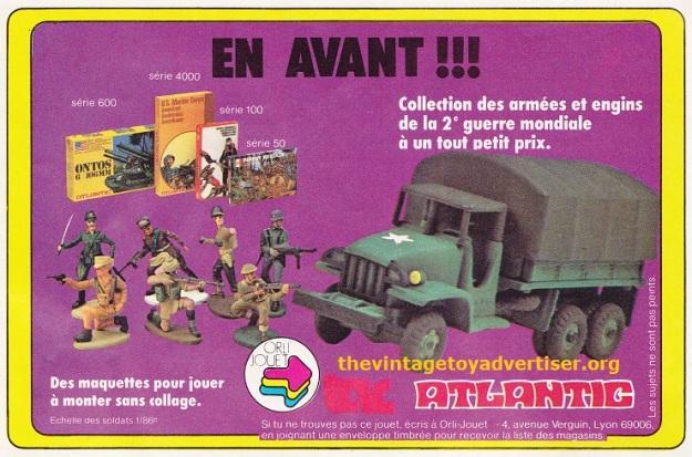 Pif Gadget 634 May 1981_Atlantic armees et engins