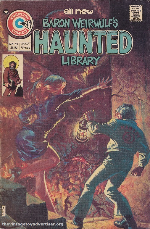 US. Charlton. Baron Weirwulfs Haunted Library 22. Don Newton cover. 1975.