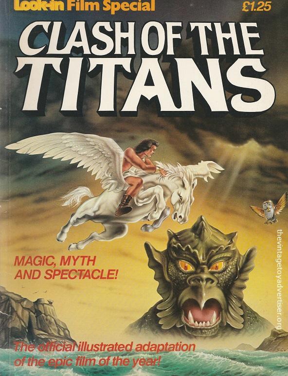 UK. Look-In Special. Clash of the Titans. Dan Spiegle cover. 1981.
