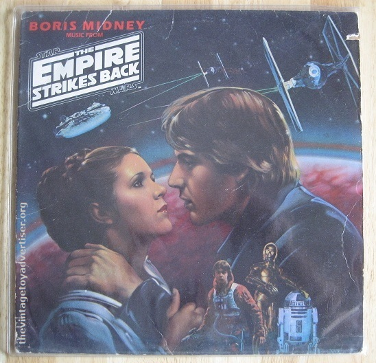 Boris Midney Music From The Empire Strikes Back. US import. RSO 1980.
