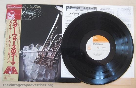 Maynard Ferguson New Vintage. Japanes pressing. CBS. 1977.