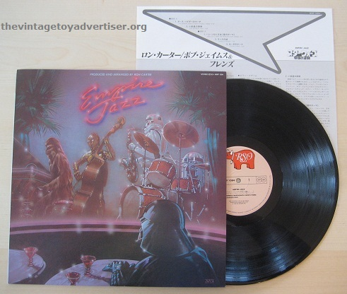 Another Japanese pressing, this time it's Ron Carter's Empire Jazz. RSO. 1977.