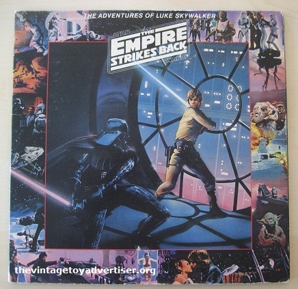The Adventures of Luke Skywalker. RSO. 1980.