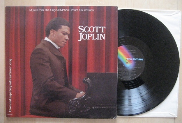 Music From The Motion Picture Scott Joplin. US pressing. MCA. 1977.