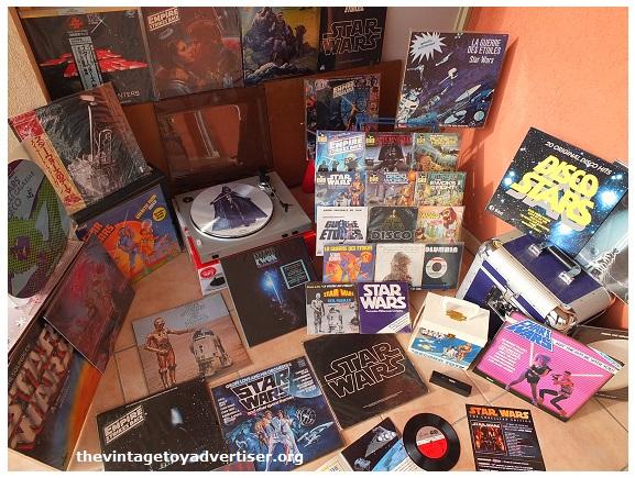 SW vinyl records