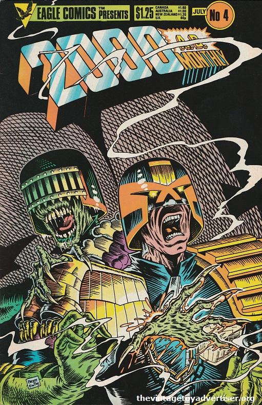 1986. Brett Ewins cover.