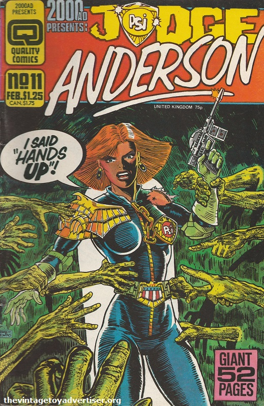 Judge Anderson 11 1986 Brett Ewins POST