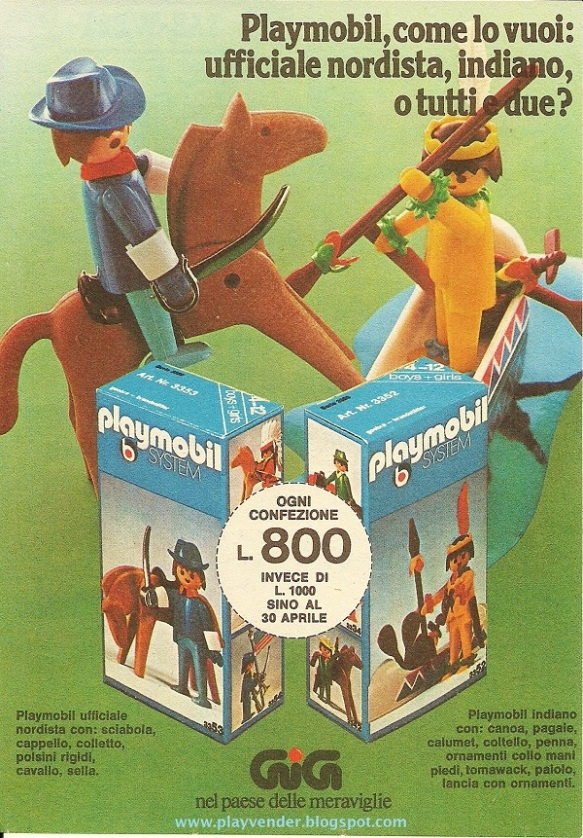 Playmobil Italian 08
