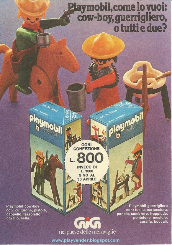 Playmobil Italian 007