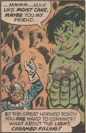 Hulk Hostess detail