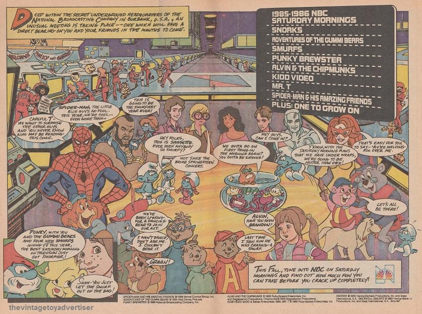 saturday morning cartoons the vintage toy advertiser