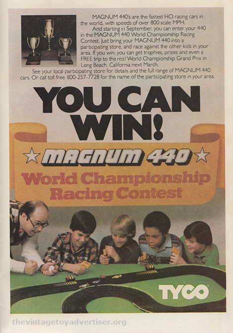 Magnum 440 Slot Car Racing from Tyco |