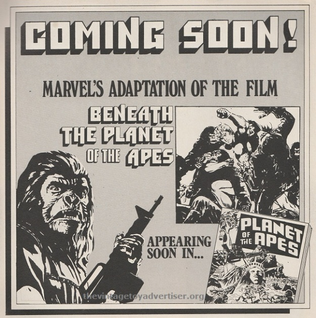 Beneath the Planet of the Apes. 1975.