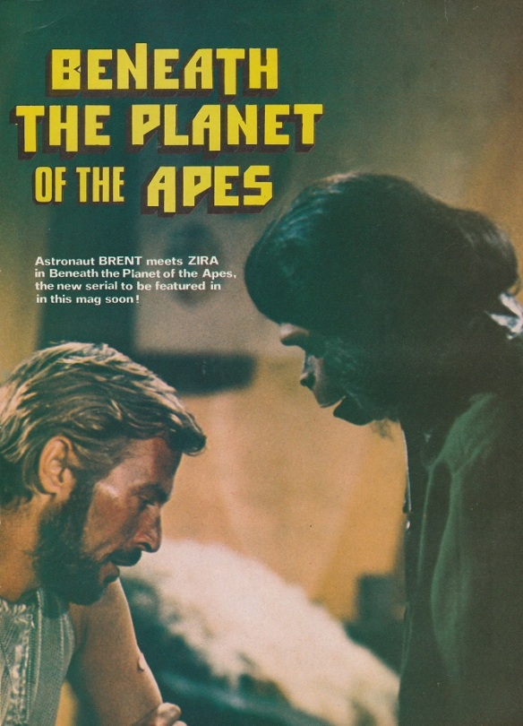 Movie still Beneath the Planet of the Apes. 1975.