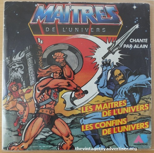 MOTU. 7 inch single. French pressing. Polydor. 1983.