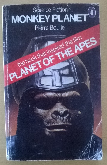 1975 Penguin UK edition of Planet of the Apes by Pierre Boulle.