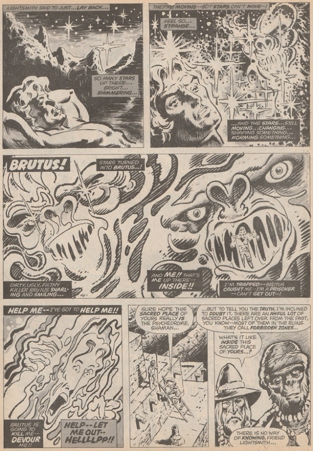 Page from Demons of the Psychedrome.
