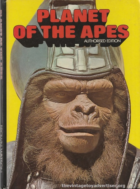 Cover of Planet of the Apes Authorised Edition. Brown Watson. 1975.