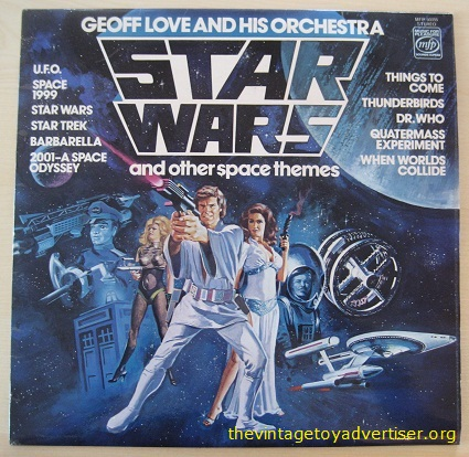 Geoff Love. Star wars and other Space Themes. UK Pressing.