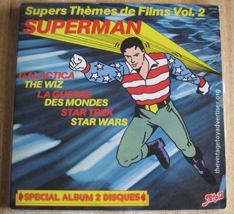 Superman Film Themes. French Pressing.