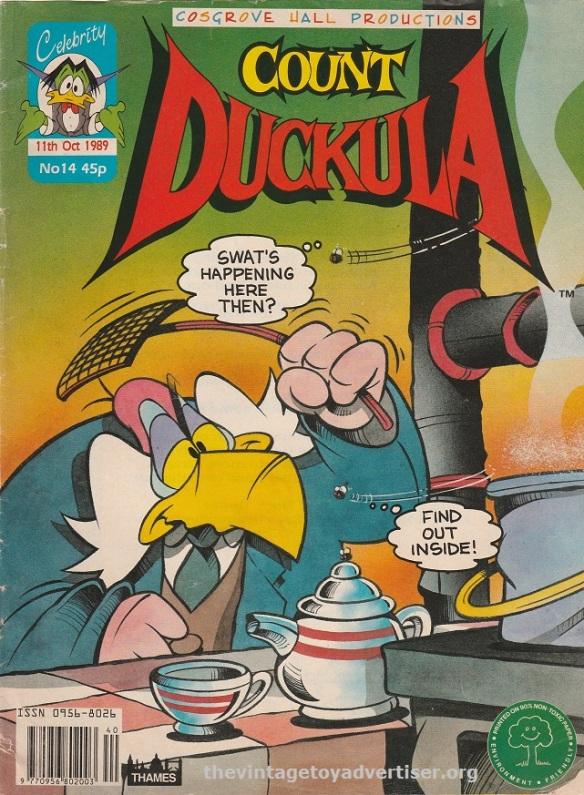 UK. Count Duckula. 1989.