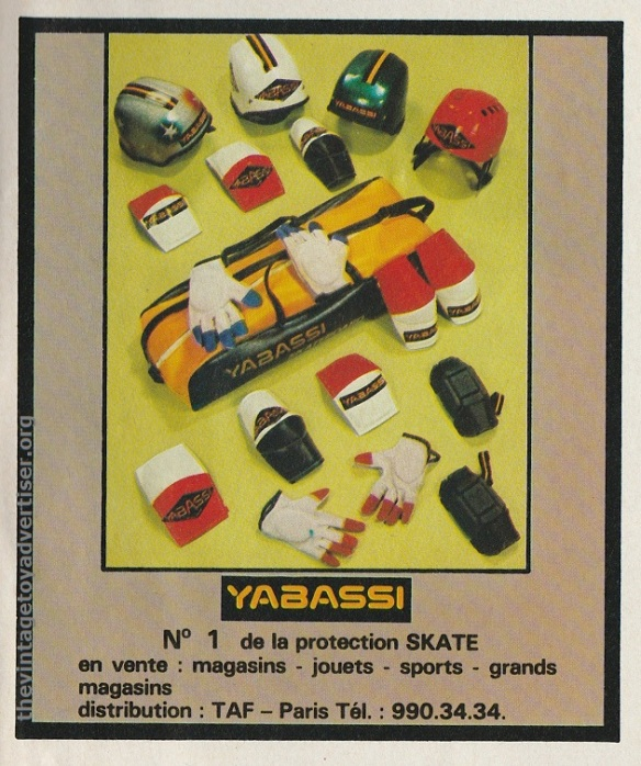Another Yabassi ad, this time from Pif Gadget #495, 1978.