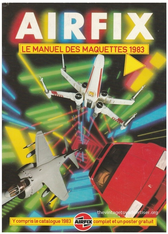 Airfix catalogue French edition 1983 cover