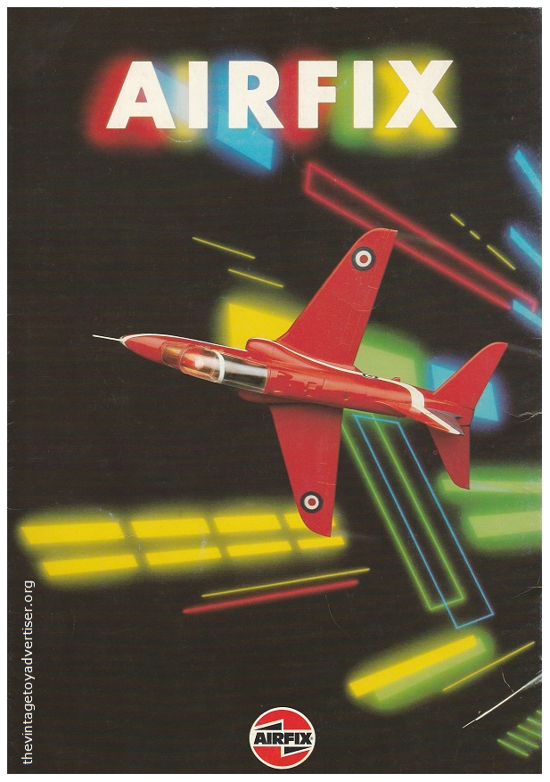 Airfix catalogue French edition 1983 back cover