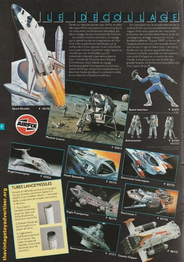 Airfix catalogue French edition 1983