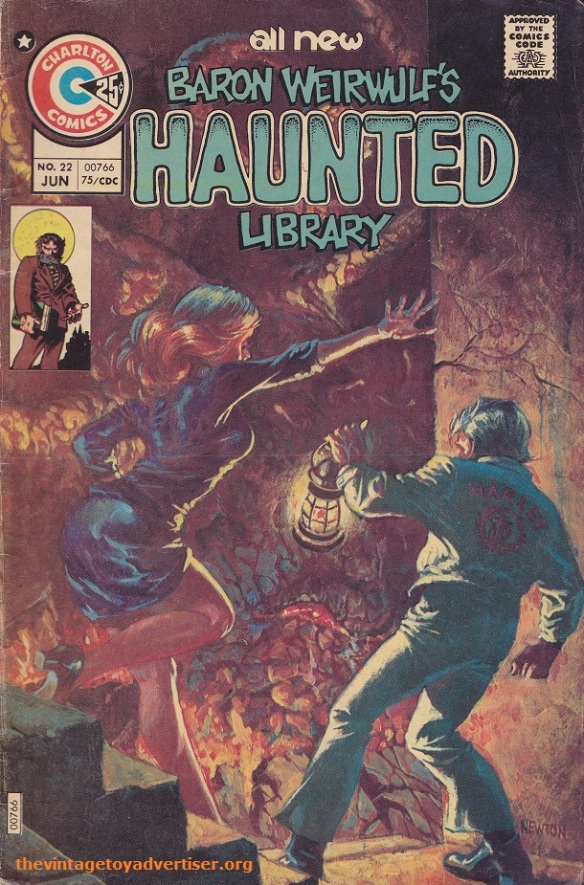 US. Baron Weirwulfs Haunted Library. Cover by Don Newton.