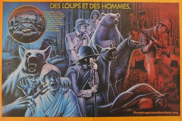 Poster Des loups et des Hommes from PIf Gadget. France.