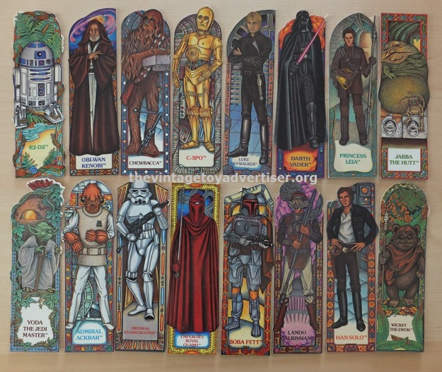 ROTJ Bookmark set 16. Random House. 1983 001