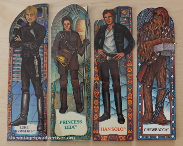ROTJ Bookmark set 16. Random House. 1983 003