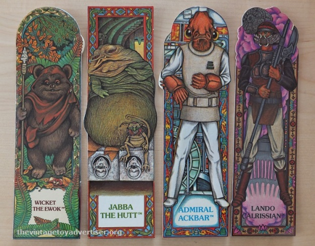 ROTJ Bookmark set 16. Random House. 1983 005